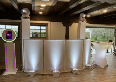 Event wedding setup
